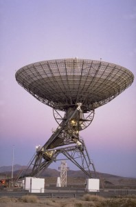 El Radiotelescopio de Goldstone Apple Valley (GAVRT en inglés). Créditos: NASA.